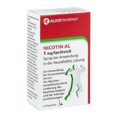 Nicotin Al 1 mg/Sprühstoss Spray zur, zum Anw.i.d.Mundhö.  bei apo.com bestellen
