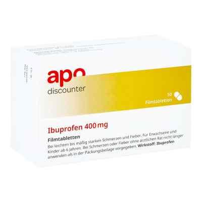 Ibuprofen 400 mg Apodiscounter Filmtabletten  bei apotheke-online.de bestellen