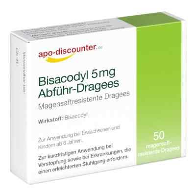 Bisacodyl 5mg Dragees von apo-discounter - bei Verstopfung  bei apo.com bestellen