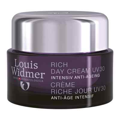 Widmer Rich Day Cream Uv 30 leicht parfümiert  bei apo.com bestellen