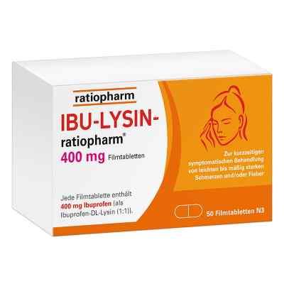 Ibu Lysin-ratiopharm 400 mg Filmtabletten  bei apotheke-online.de bestellen