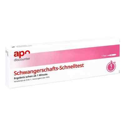 Schwangerschaftstest Schnelltest ab 25ie/l Urin von apo-discount  bei apo.com bestellen
