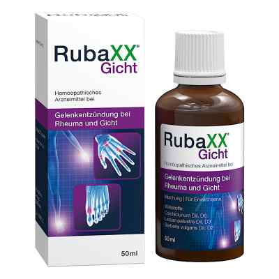 Rubaxx Gicht Tropfen zum Einnehmen  bei apotheke-online.de bestellen