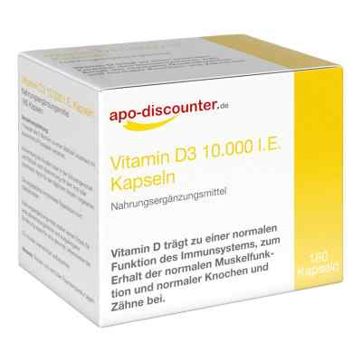 Vitamin D3 Kapseln 10000 I.e. 250 [my]g von apo-discounter  bei apo.com bestellen