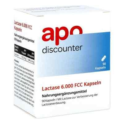 Lactase 6.000 Fcc Kapseln von apo-discounter  bei apo.com bestellen