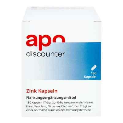 Zink Kapseln 15 mg von apo-discounter  bei apo.com bestellen