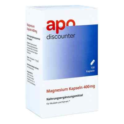 Magnesium Kapseln 400 mg von apo-discounter  bei apotheke-online.de bestellen