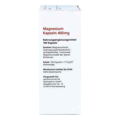 Magnesium Kapseln 400 mg von apo-discounter  bei apo.com bestellen