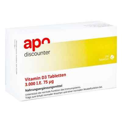 Vitamin D3 Tabletten 3000 I.e. 75 [my]g  bei apotheke-online.de bestellen