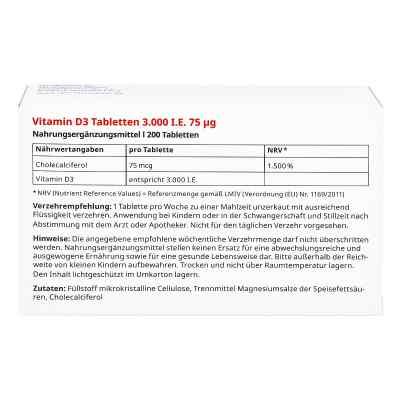 Vitamin D3 Tabletten 3000 I.e. 75 [my]g von apo-discounter  bei apo.com bestellen
