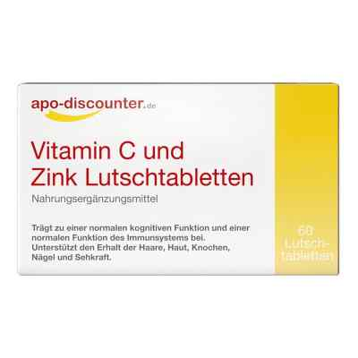 Vitamin C Und Zink Lutschtabletten von apo-discounter  bei apo.com bestellen