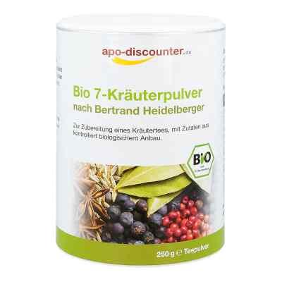Bio 7-Kräuterpulver nach Bertrand Heidelberger von apo-discounte  bei apo.com bestellen