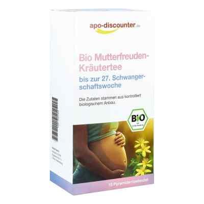 Bio Mutterfreuden-Kräutertee ohne Himbeerblätt.Fbtl. von apo-dis  bei apo.com bestellen