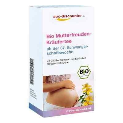 Bio Mutterfreuden-Kräutertee mit Himbeerblätt.Fbtl. von apo-disc  bei apo.com bestellen