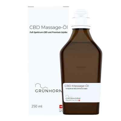Grünhorn Cbd Massage-öl  bei apo.com bestellen