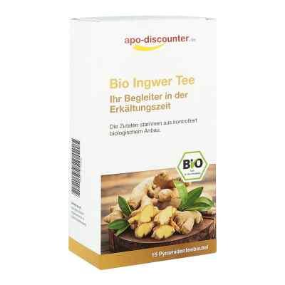 Bio Ingwer Tee Filterbeutel von apo-discounter  bei apo.com bestellen