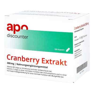 Cranberry Extrakt 300 mg Kapseln  bei apo.com bestellen