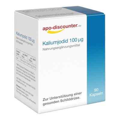 Kaliumjodid 100 [my]g Kapseln  bei apo.com bestellen