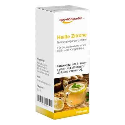 Heisse Zitrone Pulver Beutel  bei apo.com bestellen