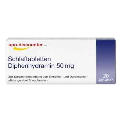 Schlaftabletten Diphenhydramin 50 mg von apo-discounter  bei apo.com bestellen