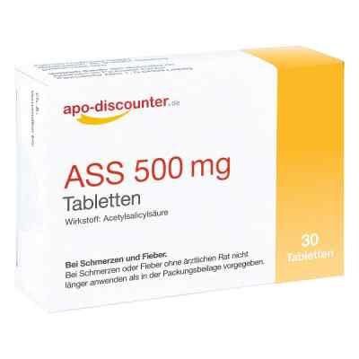 Ass 500 mg Tab apo-discounter  bei apo.com bestellen