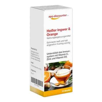 Heisser Ingwer+orange Pulver  bei apotheke-online.de bestellen