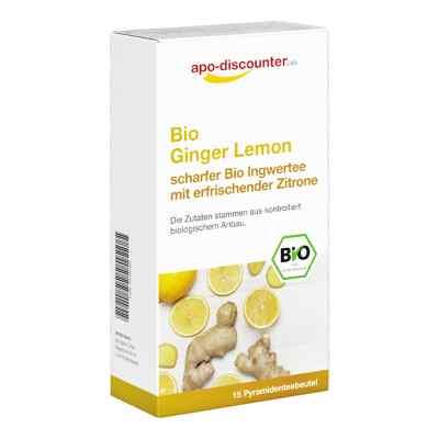 Bio Ginger Lemon Tee Filterbeutel von apo-discounter  bei apo.com bestellen