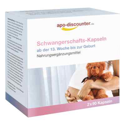 Schwangerschafts Kapseln von apo-discounter  bei apo.com bestellen