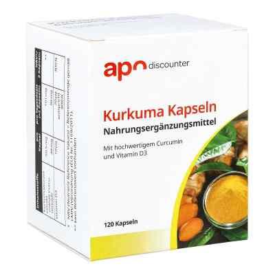 Kurkuma Kapseln mit Curcumin von apo-discounter  bei apo.com bestellen