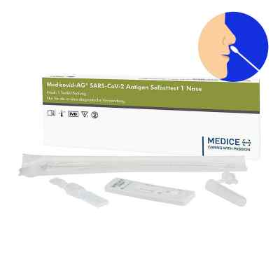 Laientest Medicovid-ag Sars-cov-2 Antigen Selbsttest Nase  bei apo.com bestellen
