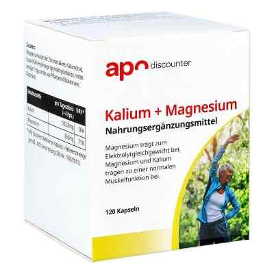 Kalium + Magnesium Kapseln von apo-discounter  bei apo.com bestellen